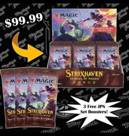 Magic: The Gathering Strixhaven Set Booster + 3 FREE JPN Set Packs