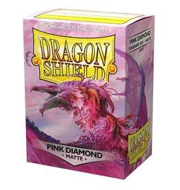 Arcane Tinmen Dragon Shield Pink Diamond Matte 100 Standard