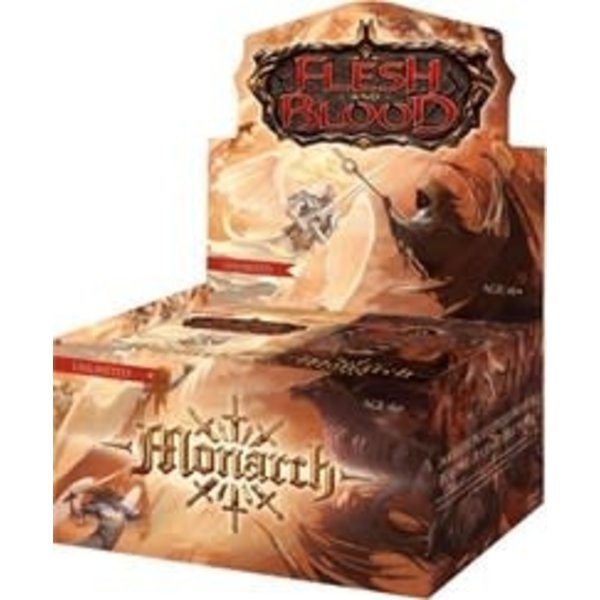 Legend Story Studios Flesh and Blood TCG Monarch Unlimited Booster Display