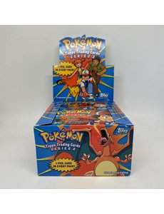 Topps Topps Pokemon TV Animation Edition Pack Series 2 From Sealed Box