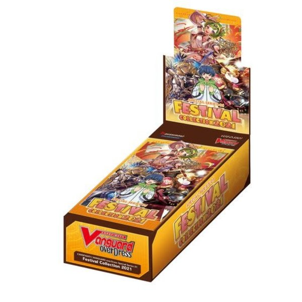 Bushiroad Cardfight Vanguard overDress Special Series 01: Festival Collection 2021 Booster Box
