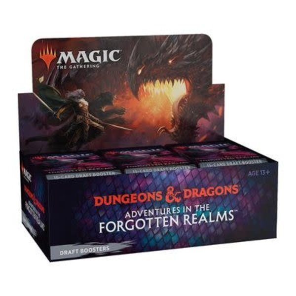 Magic: The Gathering Adventures in the Forgotten Realms - Draft Booster Box