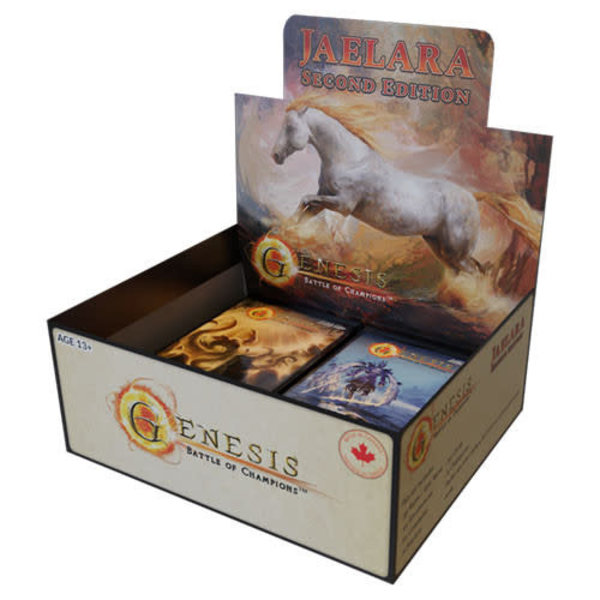 Haunted Castle Gaming Inc. Genesis: Battle of Champions CCG - Jaelara 2E Booster Box