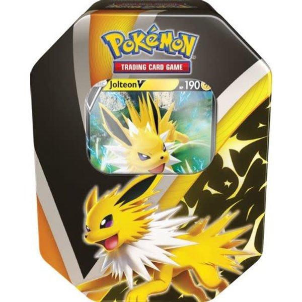 Pokemon Eevee Evolutions Tin [Jolteon V]