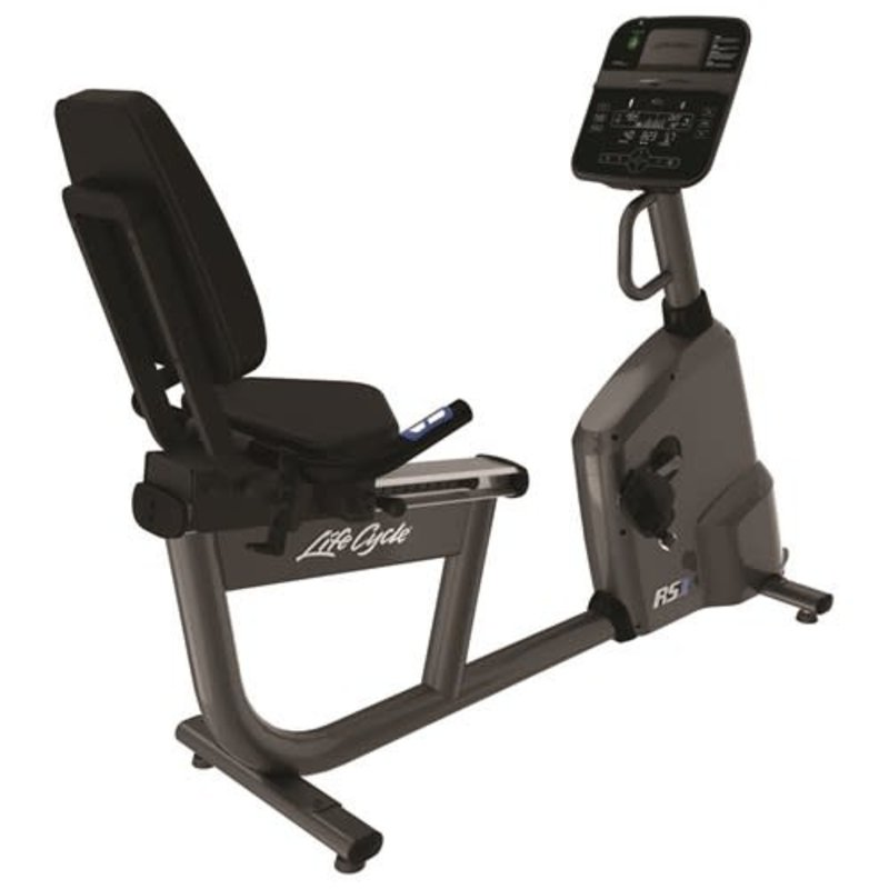 Life Fitness RS1 Recumbent Bike - Track Console