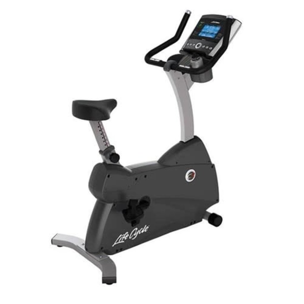 Life Fitness C3 Upright Bike - Go Console