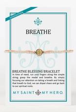My Saint My Hero Breathe Bracelet Metallic Copper/Gold
