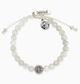 My Saint My Hero My Saint My Hero Mothers Moonstones Love Fertility Bracelet