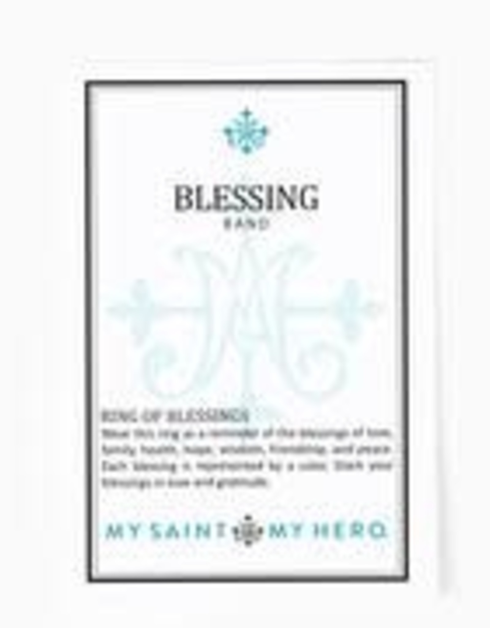 My Saint My Hero Blessing Ring Red Size 8