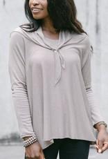 Cobblestone Cobblestone Seraphina - Taupe Pullover Sweater