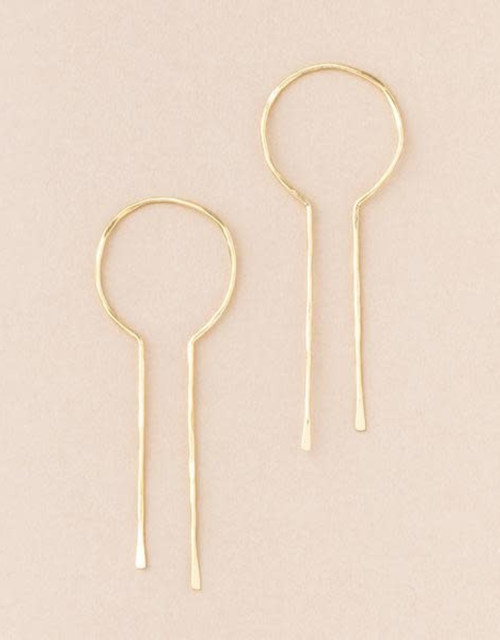 Scout Scout Keyhole Gold Earrings