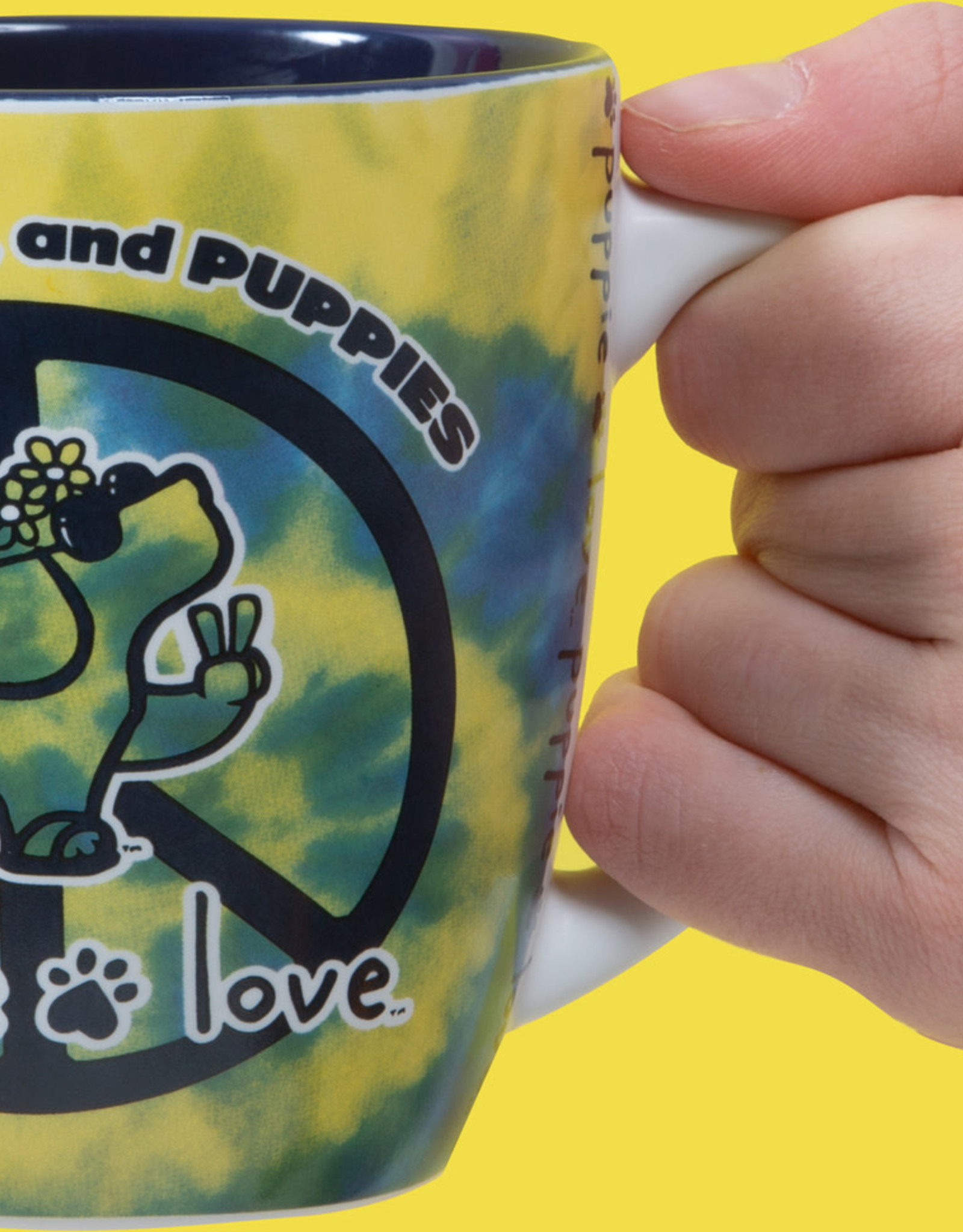 Pavilion Puppie Love Peace Mug