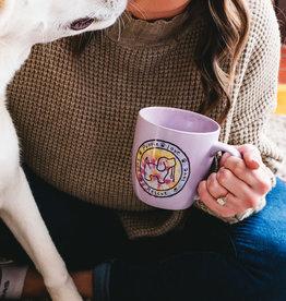 Pavilion Puppie Love Tie-Dye Mug