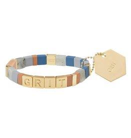 Scout Empower Grit gold labradorite sunstone