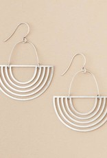 Scout Solar Ray Sterling silver earring