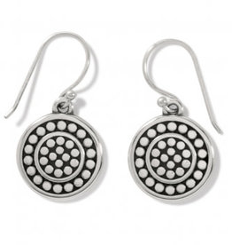 Brighton Pebble Round French wire earrings