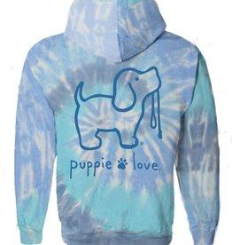 Puppie Love Puppie Love Tie Dye Sweatshirt