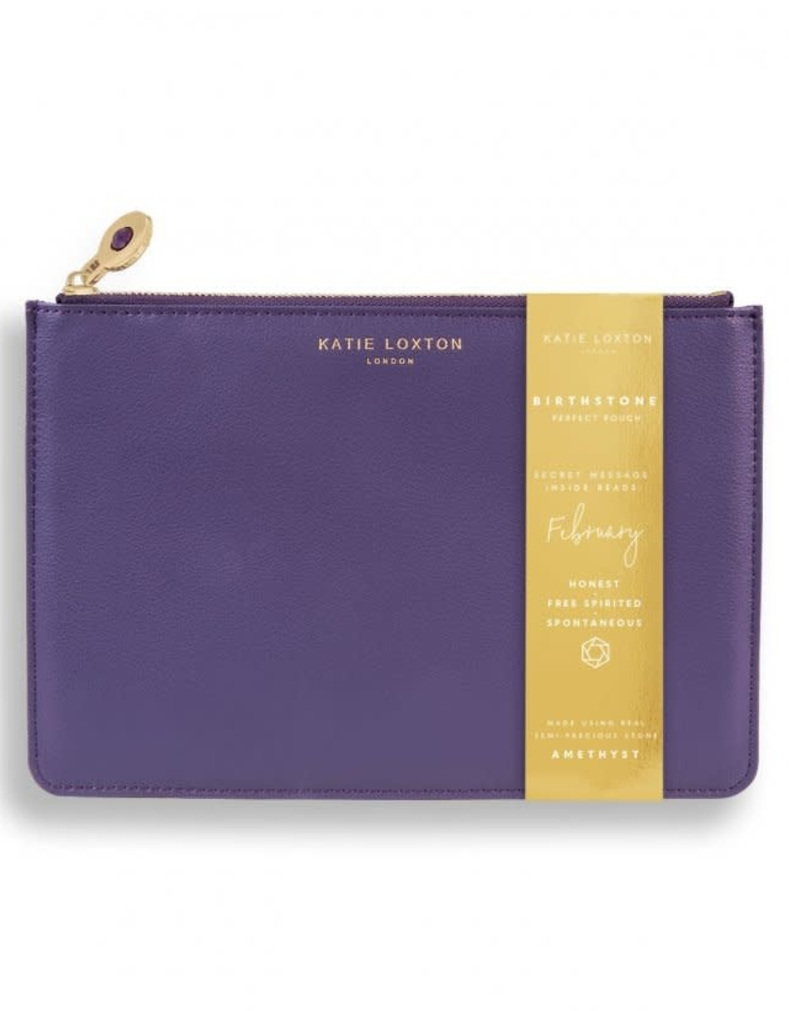 Katie Loxton The Birthstone Perfect Pouch February