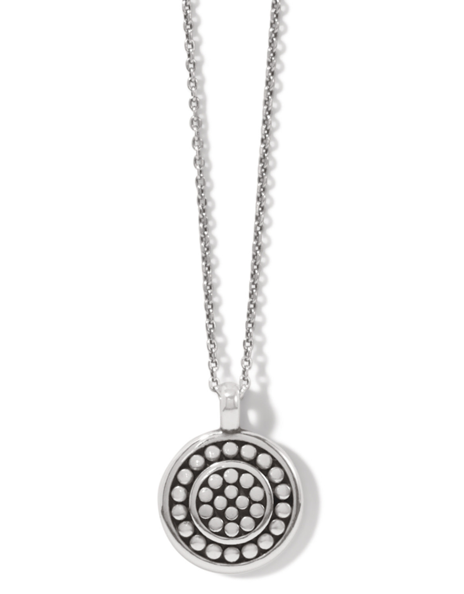 Brighton Pebble Round Petite Necklace