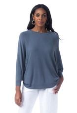 Cobblestone Cobblestone Vera Denim Top Sweater