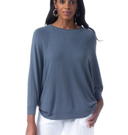 Cobblestone Cobblestone Vera Denim Top Sweater