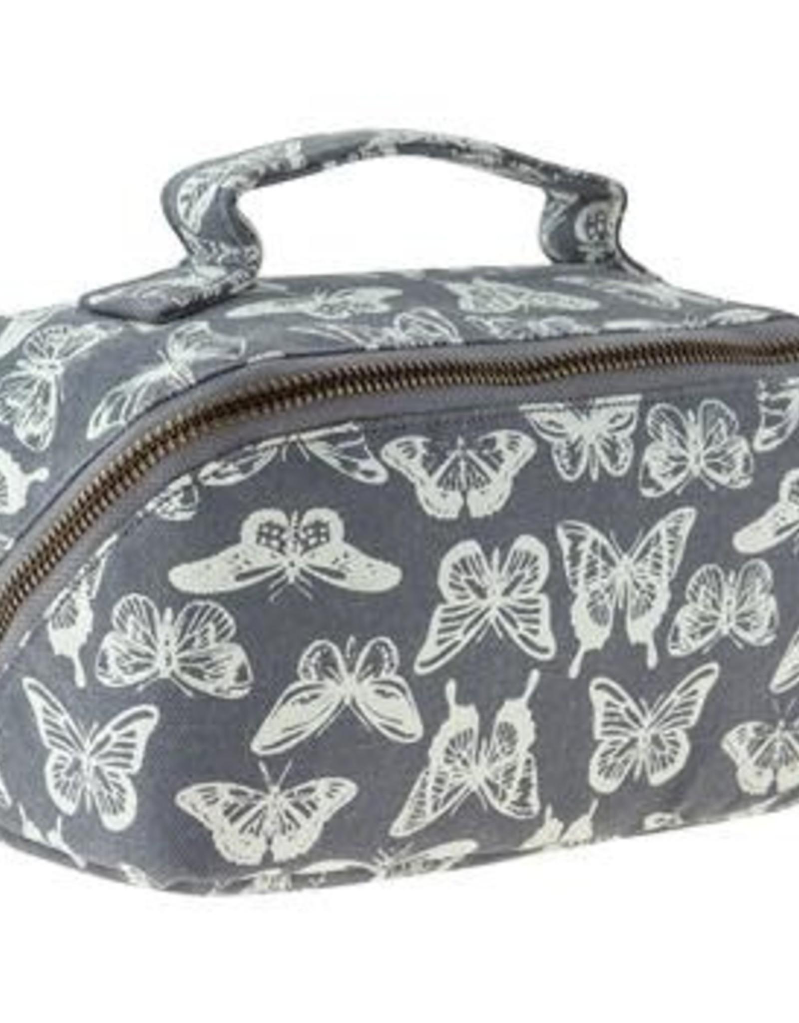 Karma Zip Cosmetic Bag Butterfly