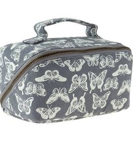 Karma Zip Cosmetic Bag Butterfly
