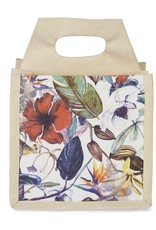 Coco & Carmen Upcycled Cotton Beverage Caddy Floral