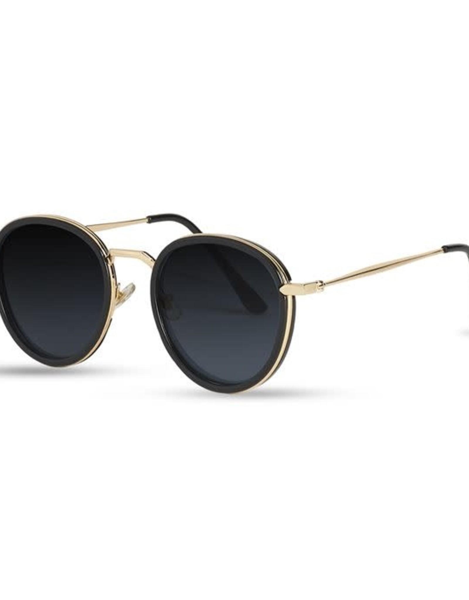 Coco & Carmen Zoe Runway Sunnies - Black Sunglasses