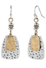 Coco & Carmen Whispers Stamped Surprise Dangle Mixed Metal