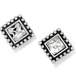 Brighton Sparkle Square Mini Post Earrings