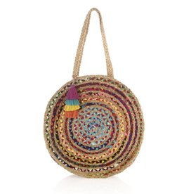 Shiraleah Large Mirabel Round Bag