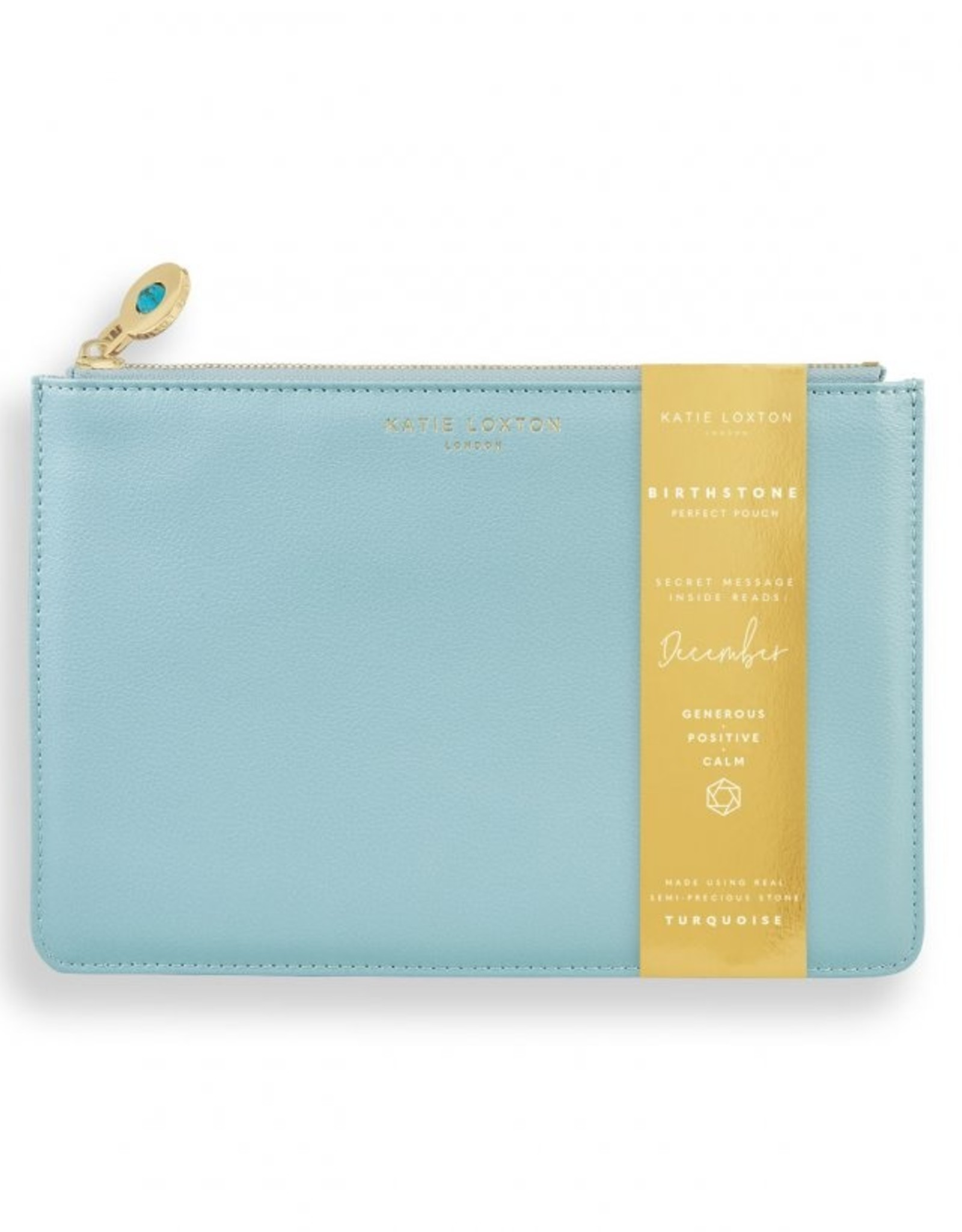 Katie Loxton The Birthstone Perfect Pouch December