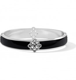 Brighton Interlok Noir Bangle Bracelet