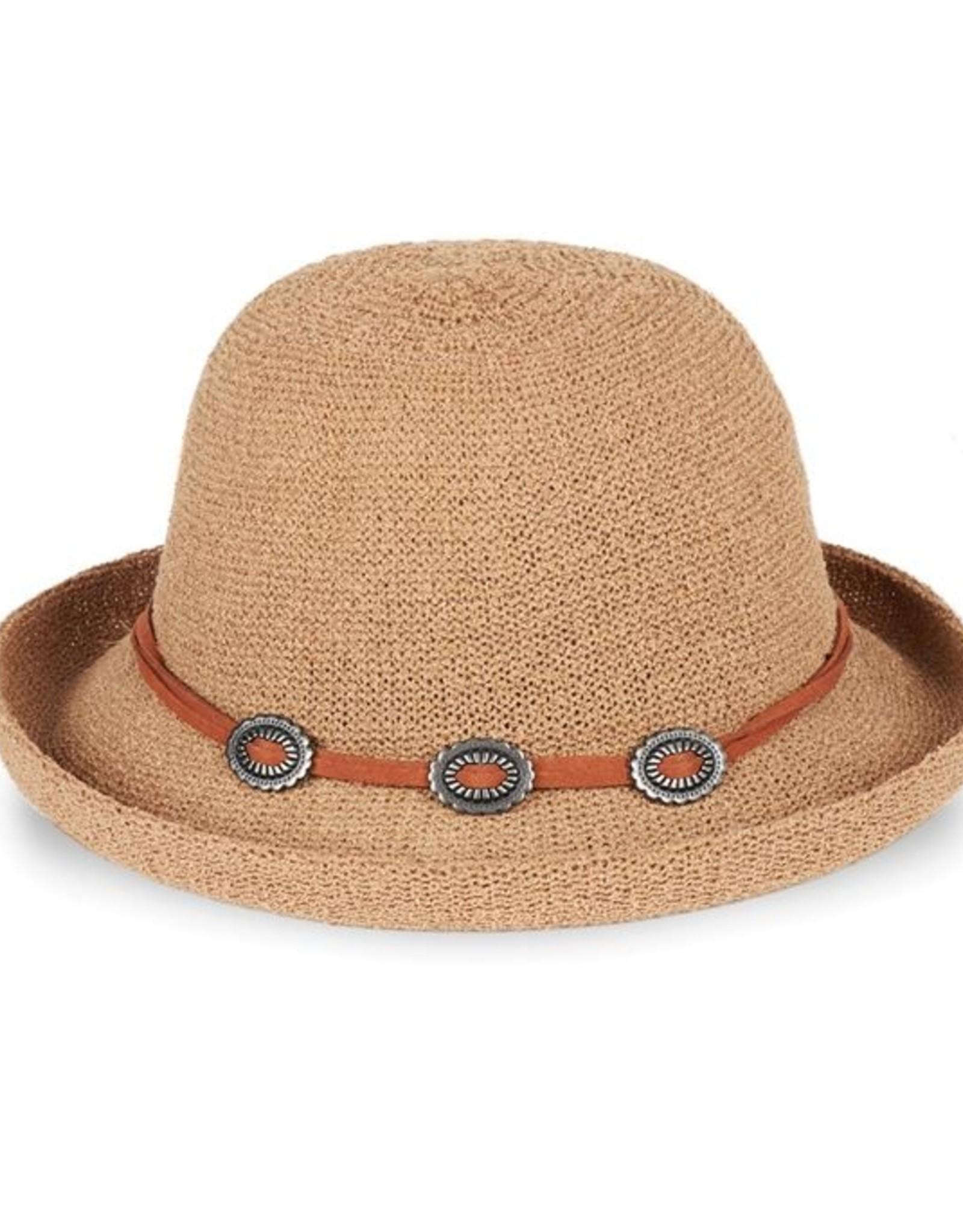 Coco & Carmen Mediterranean Hat w/ Concho