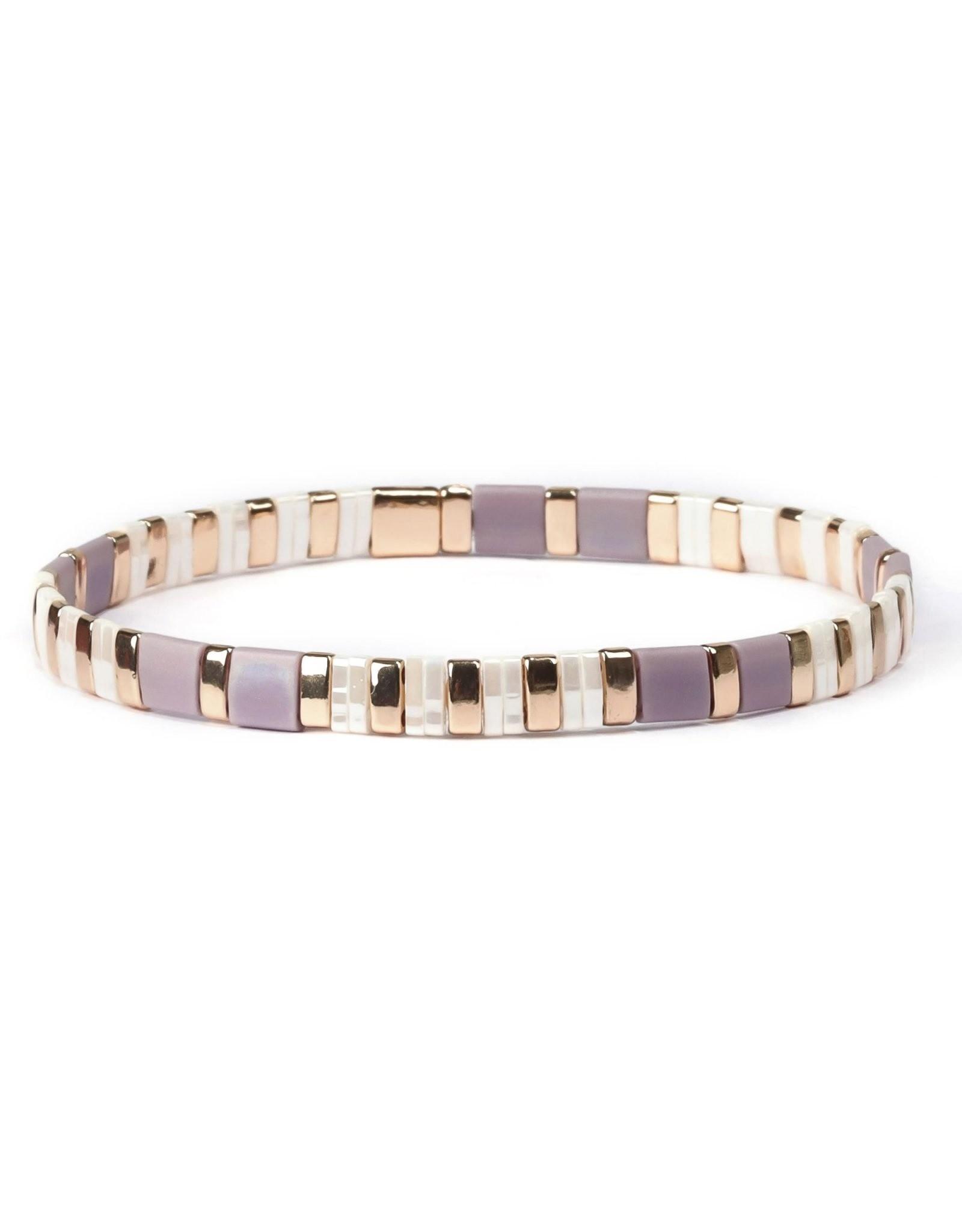 Splendid Iris Alexandra Tila Stretch Bracelet