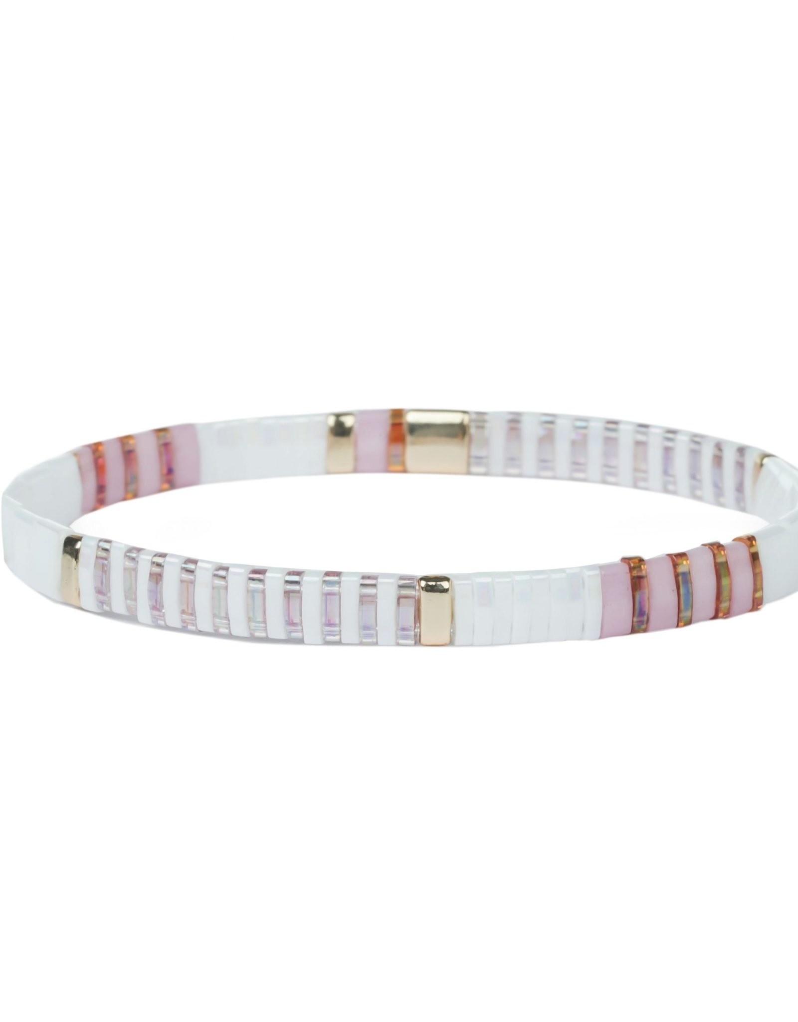 Splendid Iris Tiffany Tila Stretch Bracelet
