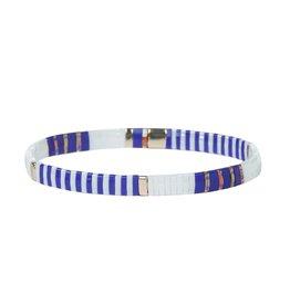Splendid Iris Tila Stretch Bracelet