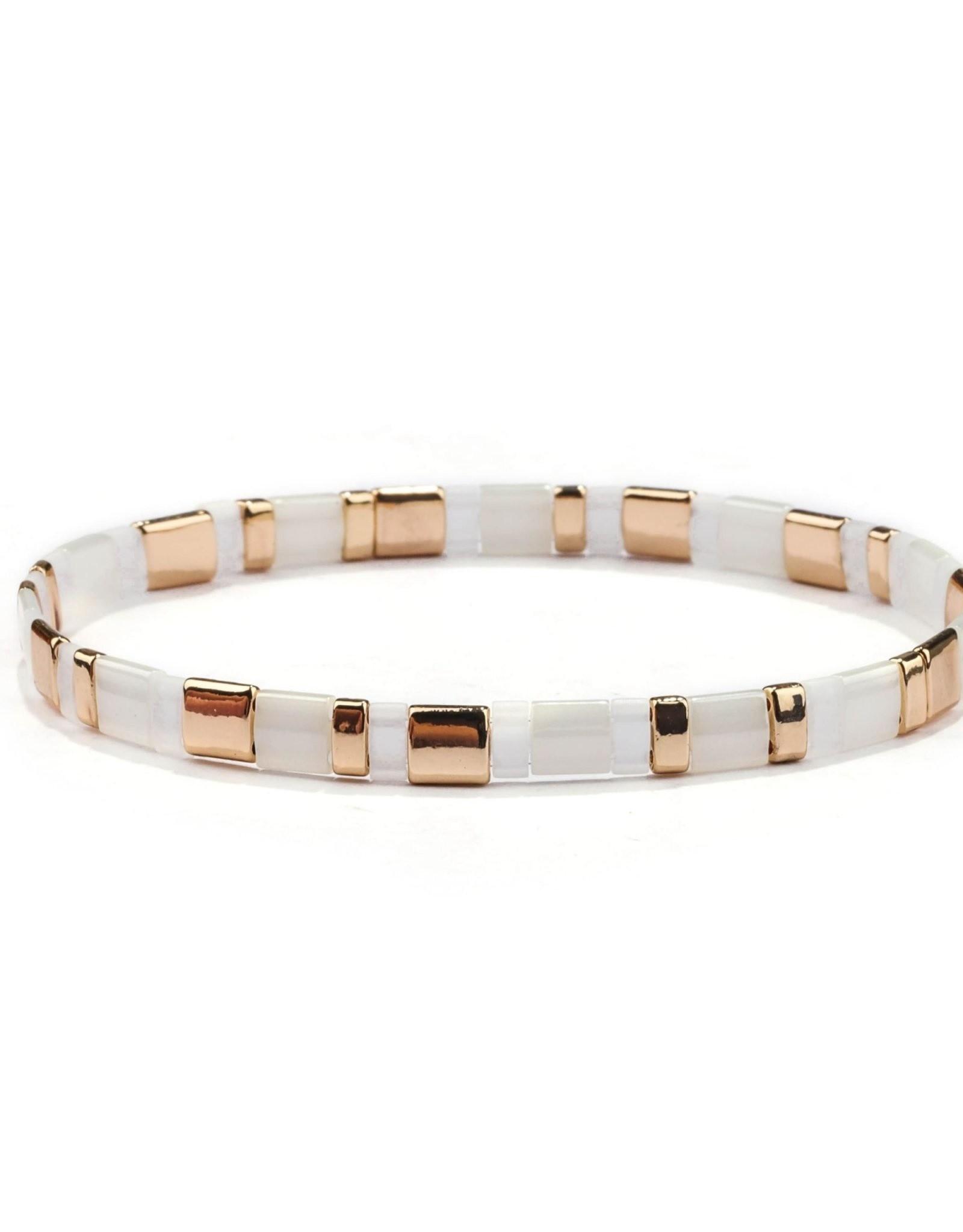 Splendid Iris Madison Tila Stretch Bracelet