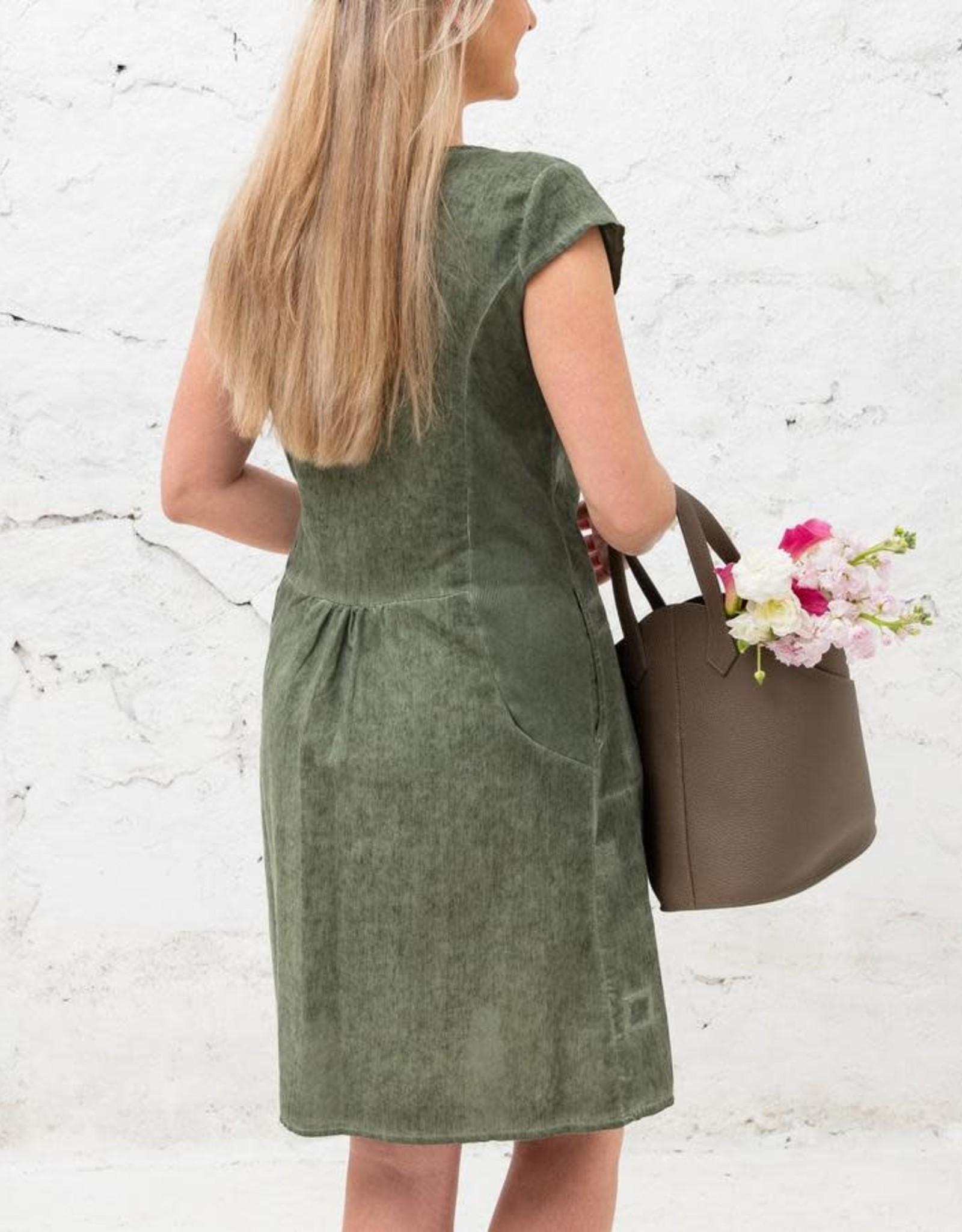 Cobblestone Cobblestone Chloe Sage Market Dress