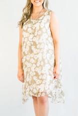 Cobblestone Cobblestone Phoebe Taupe Dress Tunic