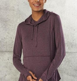 Giftcraft Inc Hooded Knit/Spandex Pullover