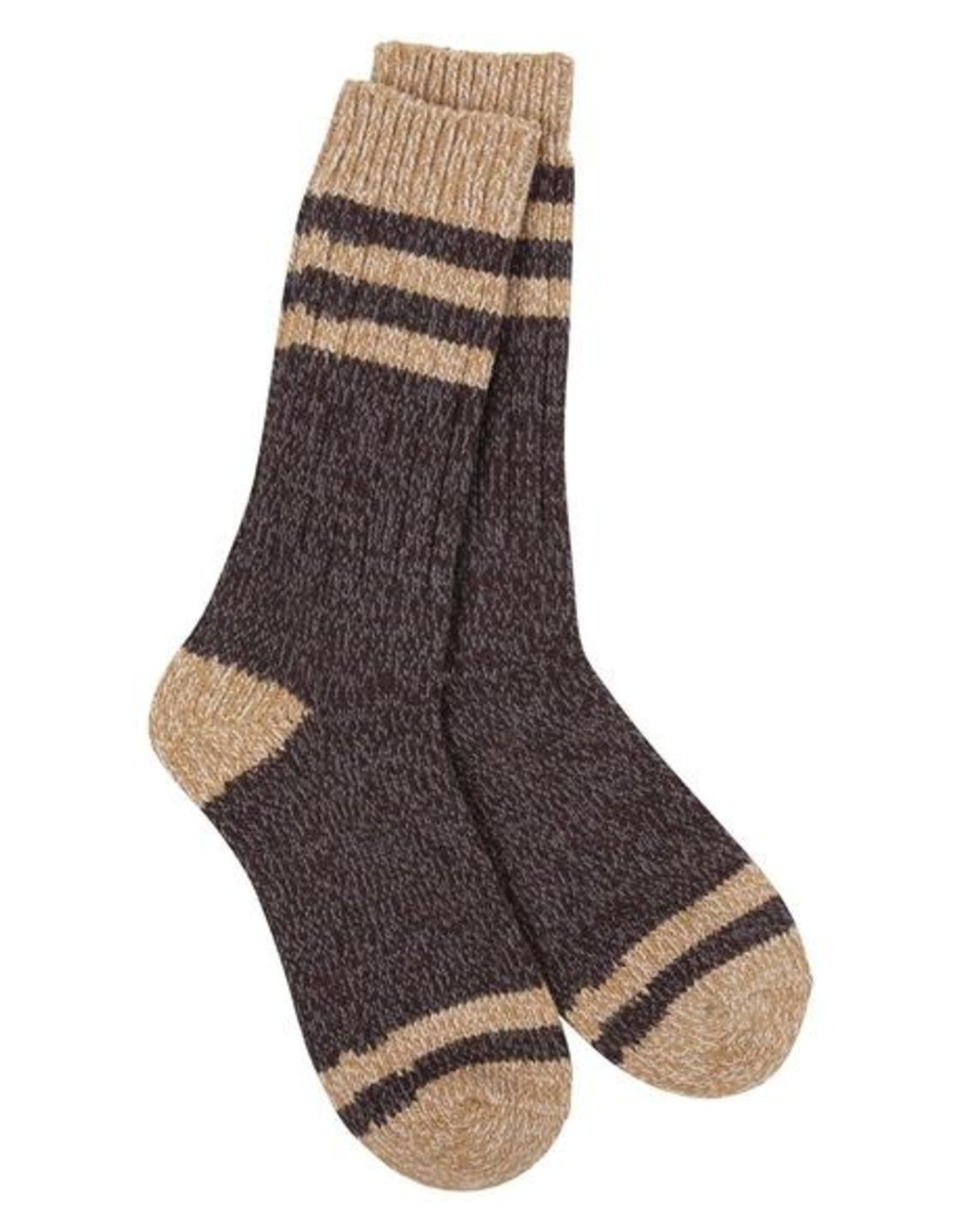 Crescent Sock Company Weekend Socks Black Coffee