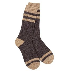 Crescent Sock Company Weekend Socks Black Coffee