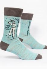 Blue Q Blue Q Mens F$%# This S#$T Socks