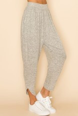 livana Brushed Grey Hammer pants