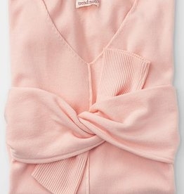 Trend:Notes Pink Tunic Sweater