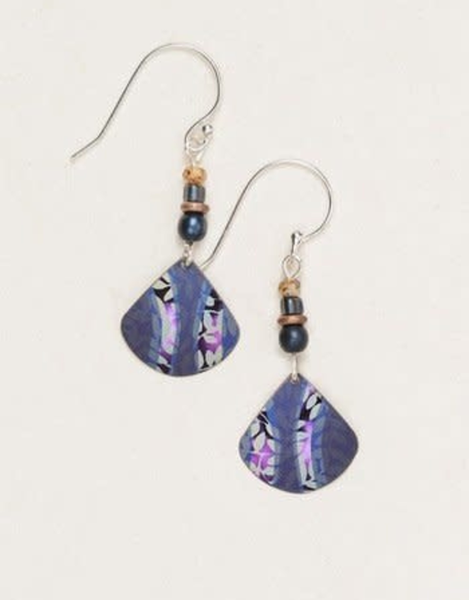 Holly Yashi Indigo Painterly Earrings