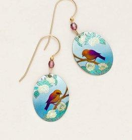 Holly Yashi Holly Yashi Light Blue Bird Song Earrings