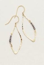 Holly Yashi Gold Emily Earrings